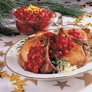 Quick Cranberry Chutney Recipe