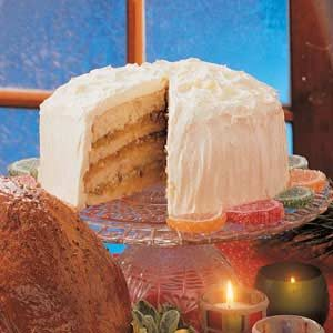 Orange Bonbon Cake Recipe