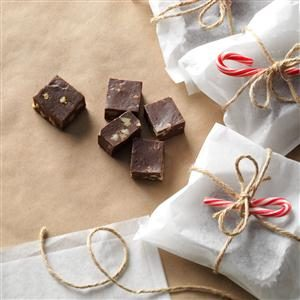 Double Chocolate Walnut Fudge Recipe