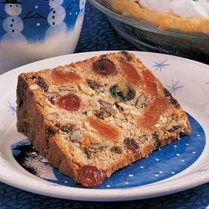 Candy Orange Slice Fruitcake Recipe