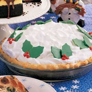 White Chocolate Cream Pie Recipe