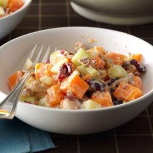 Sweet Potato Salad with Orange Dressing Recipe