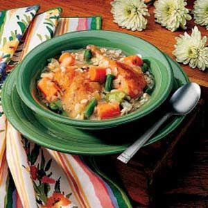 Chicken and Barley Boiled Dinner Recipe