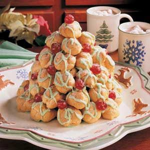Cream Puff Christmas Tree Recipe
