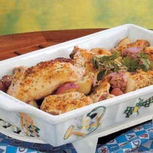 Chicken and Potato Bake Recipe