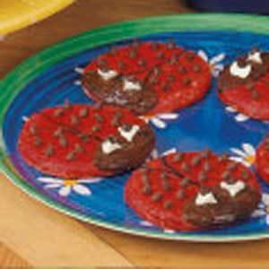 Homemade Ladybug Cookies Recipe