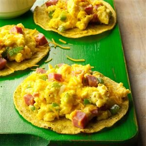 Denver Scramble Tostada Recipe