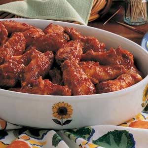 Sunshine Chicken Wings Recipe