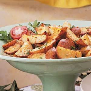 Roasted Garlic Potatoes Recipe
