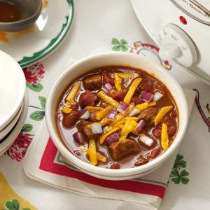 Spicy Cowboy Chili Recipe