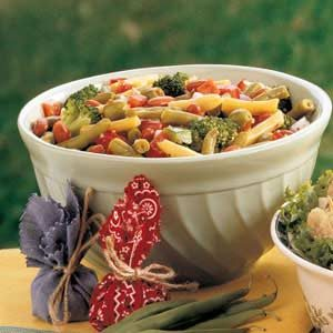 Marinated Vegetable Bean Salad Recipe