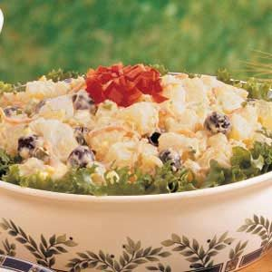 Golden Potato Salad