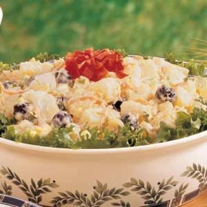 Golden Potato Salad Recipe