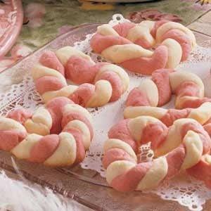 Braided Sweetheart Cookies Recipe