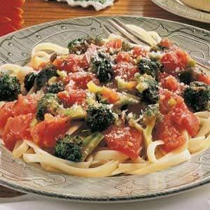 Broccoli Fettuccine Recipe