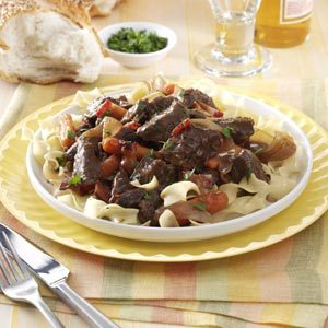 Beer-Braised Stew Recipe