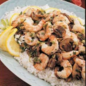 Stir-Fried Shrimp and Mushrooms Recipe