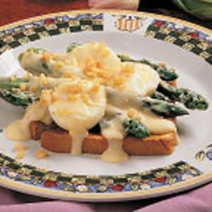 Creamy Asparagus on Toast Recipe