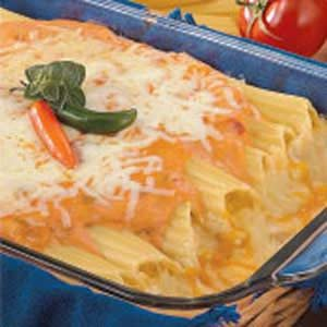 Mexican Chicken Manicotti Recipe