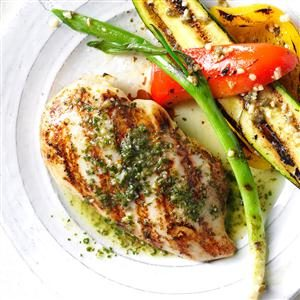 Chicken with Citrus Chimichurri Sauce Recipe