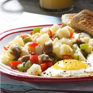 Sausage Breakfast Hash Recipe