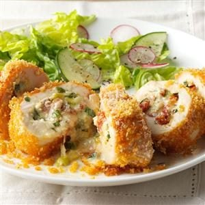 Fontina Rolled Chicken Recipe