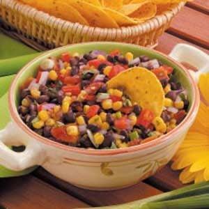 Quick Black Bean Salsa Recipe