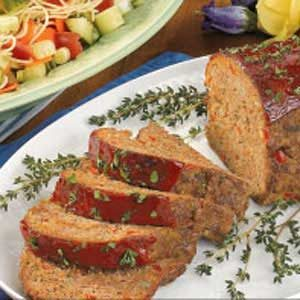 Turkey 'N' Beef Loaf Recipe