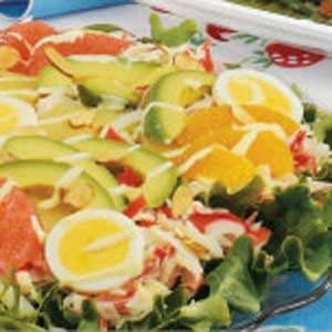 Citrusy Avocado Crab Salad Recipe