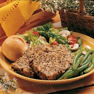Wild Rice Meat Loaf