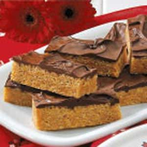 Peanut Butter Chocolate Bars Recipe photo by Taste of Home