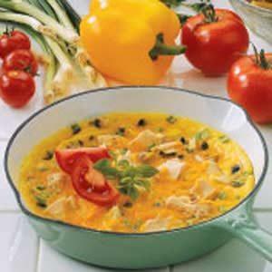 Tuna Cheese Omelet Recipe