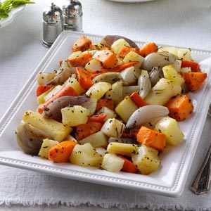 Herb Roasted Root Vegetables Recipe
