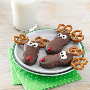 Holiday Reindeer Cookies