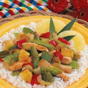 Pineapple Veggie Chicken Recipe