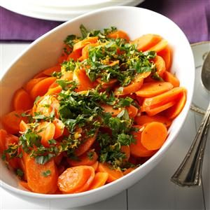 Honeyed Carrots with Citrus-Basil Gremolata Recipe