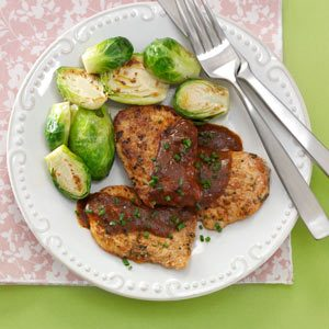 Bistro Herb-Rubbed Pork Tenderloin Recipe