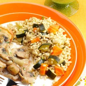 Vegetable and Barley Pilaf