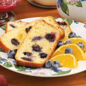 Blueberry-Orange Quick Bread Recipe