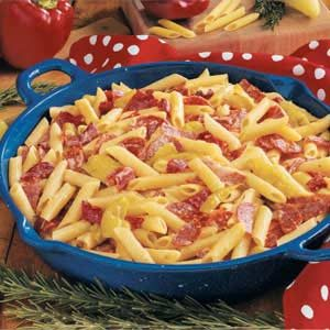 Spicy Pepper Penne Recipe