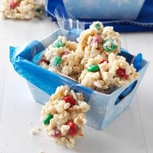 White Chip Peanut-Pretzel Clusters Recipe