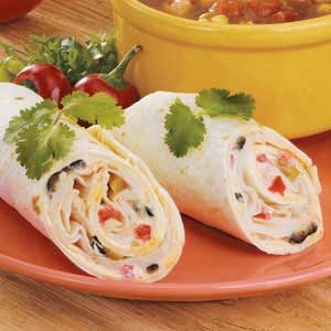 Olive Chicken Roll-Ups Recipe
