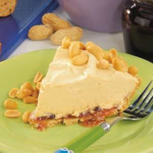 Chilly Peanut Butter Pie Recipe