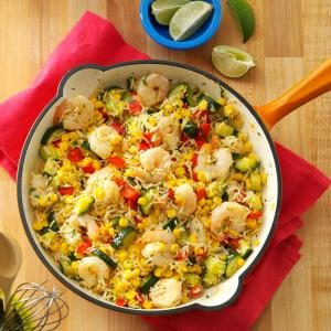 Cilantro Shrimp & Rice Recipe
