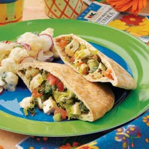 Chicken Salad Pockets Recipe