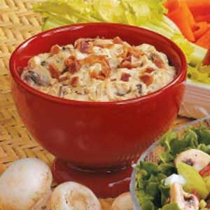 Hot Mushroom Dip Recipe