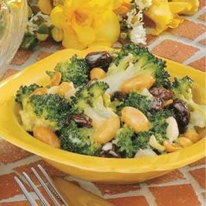Sweet-Sour Broccoli Salad Recipe
