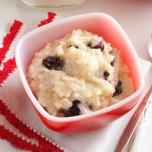 Cherry & Spice Rice Pudding Recipe