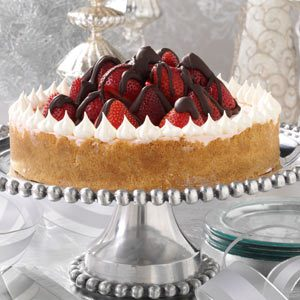 Strawberry Celebration Cheesecake Recipe