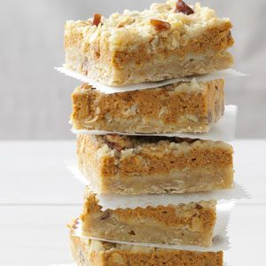 Cream Cheese Pumpkin Bars Recipe